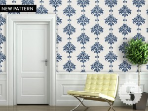 Damask Wall Covering by Swag Paper